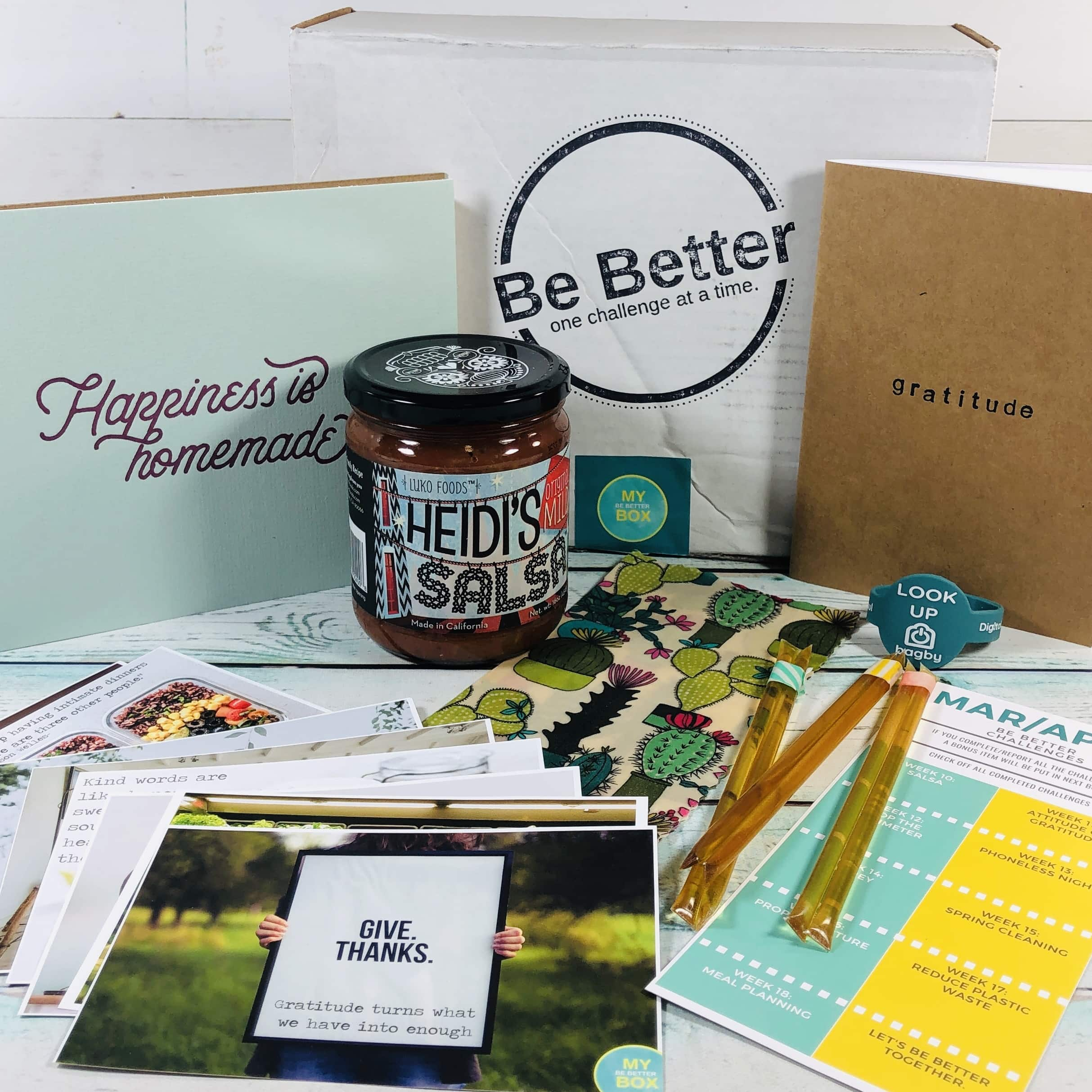 My Be Better Box March-April 2019 Subscription Box Review