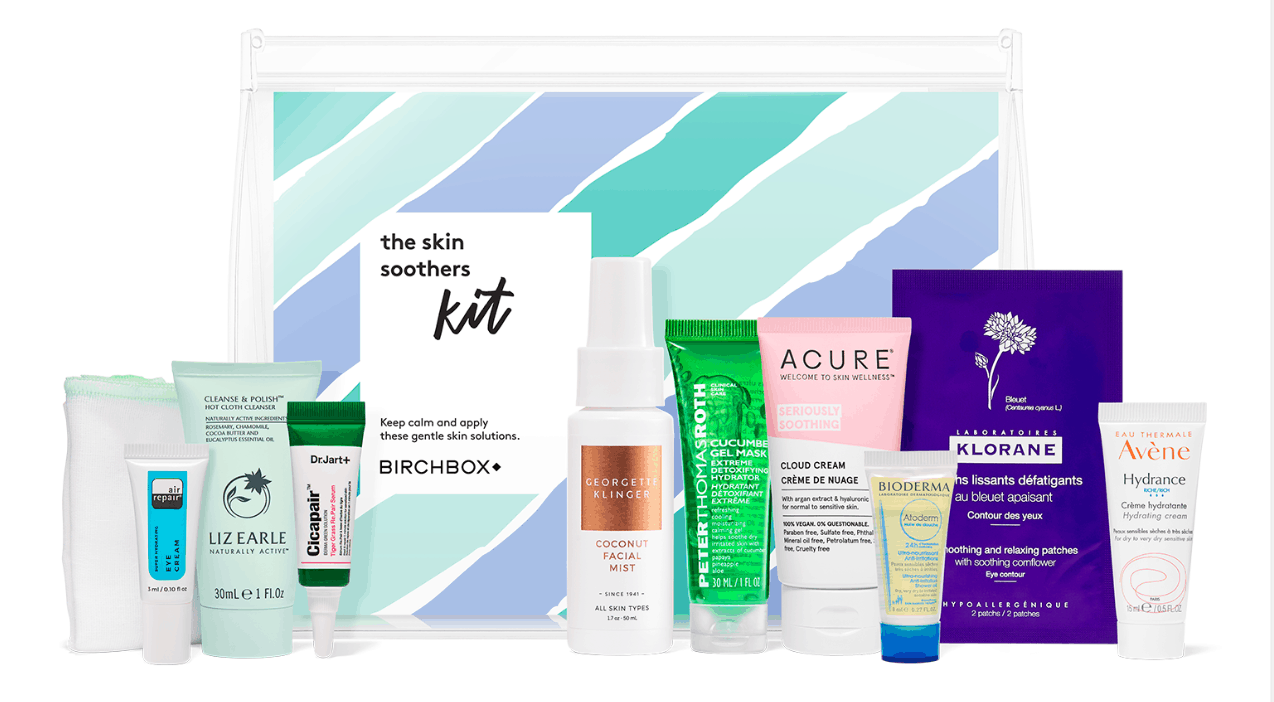 The Skin Soothers Kit – New Birchbox Kit Available Now + Coupons!