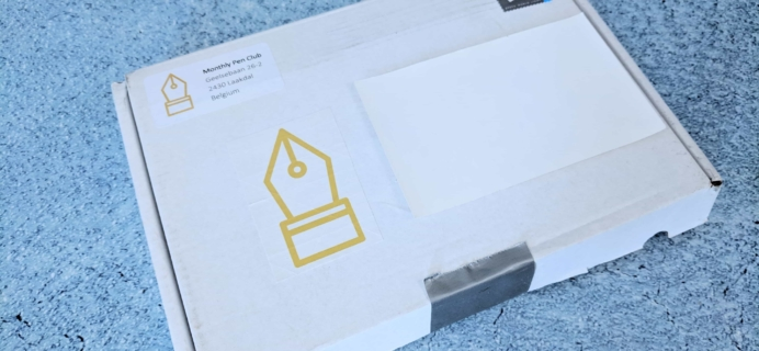 Monthly Pen Club Subscription Box Review – February 2019