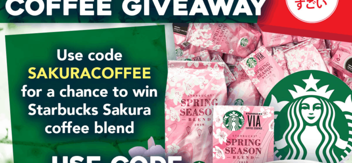 Japan Crate Coupon: Get FREE Starbucks Sakura Coffee!