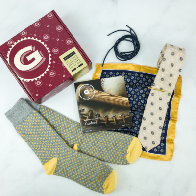 The Gentleman's Box March 2019 Review & Coupon