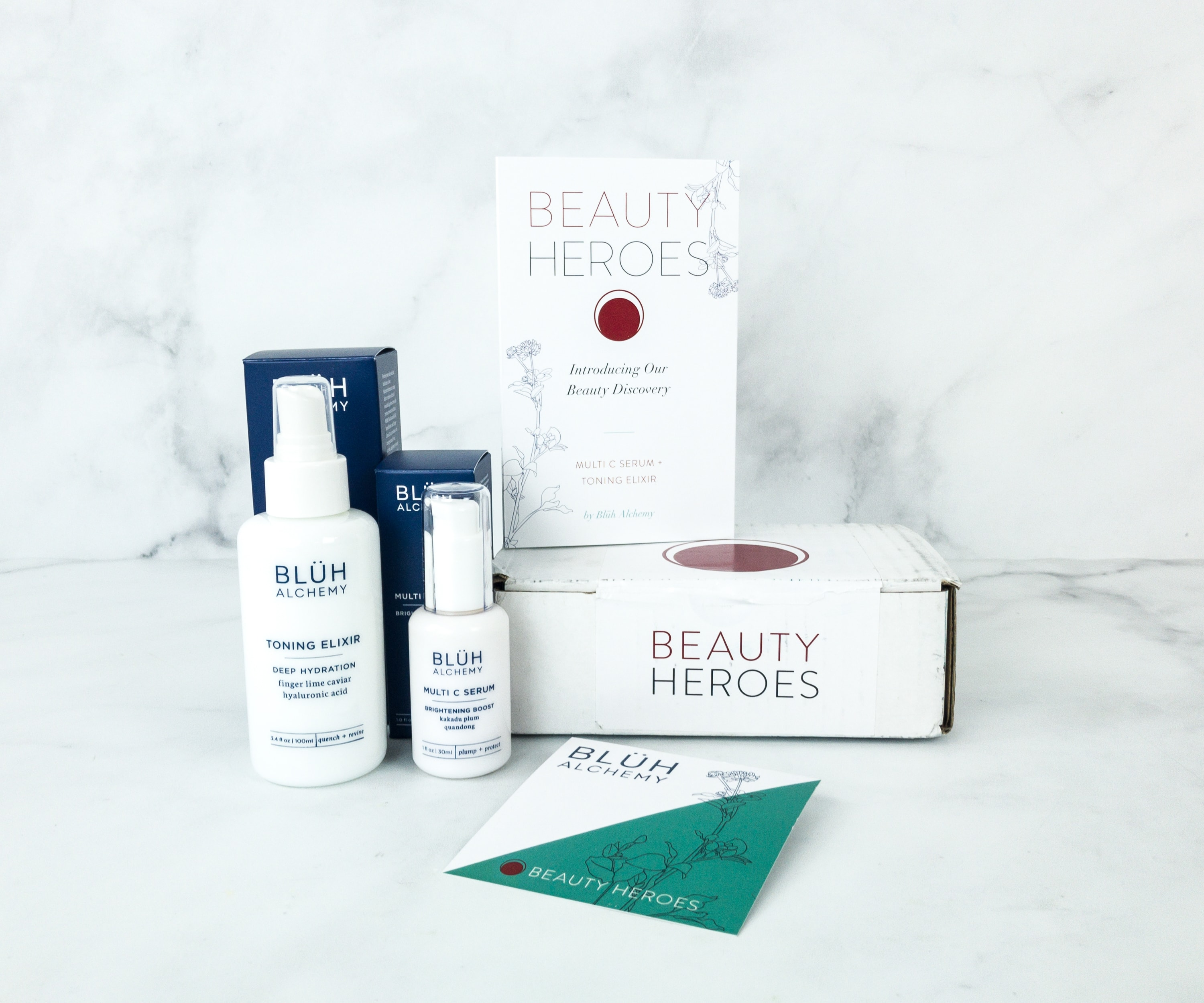 Beauty Heroes March 2019 Subscription Box Review