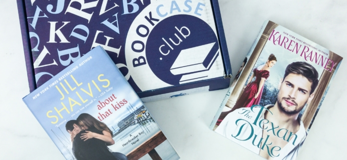 BookCase.Club March 2019 Subscription Box Review + 50% Off Coupon – Booking for Love Case