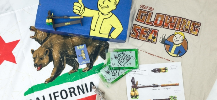 Loot Crate Fallout Crate February 2019 Review + Coupon
