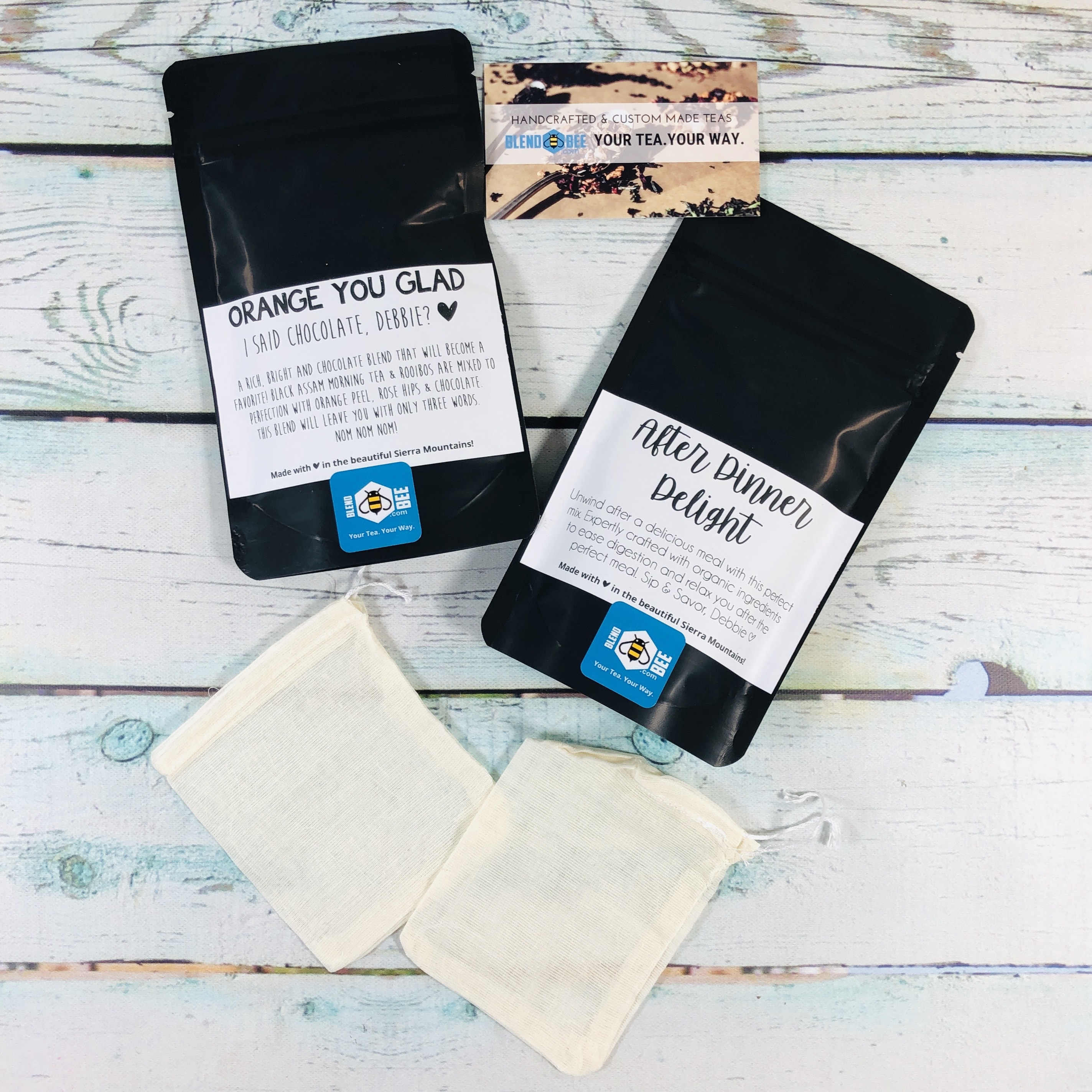 BlendBee Monthly Tea Club March 2019 Subscription Box Review