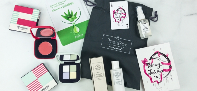 JoahBox February 2019 Subscription Box Review + Coupon