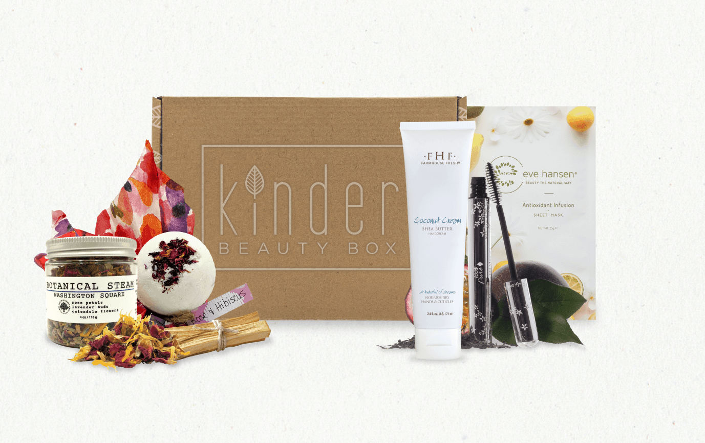 Kinder Beauty Box Flash Sale Get Two Free Items With