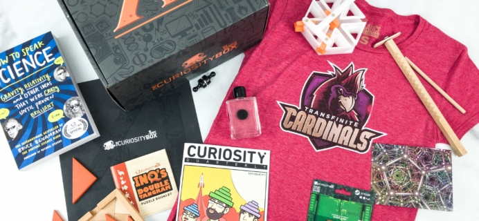 The Curiosity Box by VSauce Subscription Box Review – Spring 2019