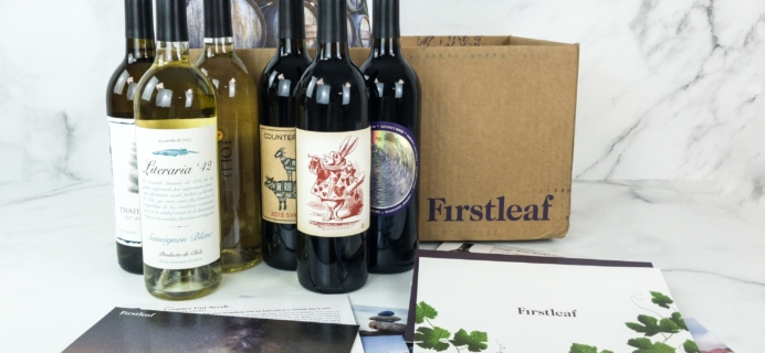 Firstleaf Wine Club March 2019 Subscription Box Review + Coupon