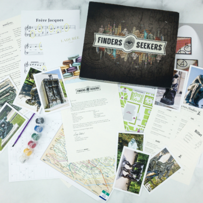Finders Seekers Subscription Box Review + Coupon – PARIS January 2019