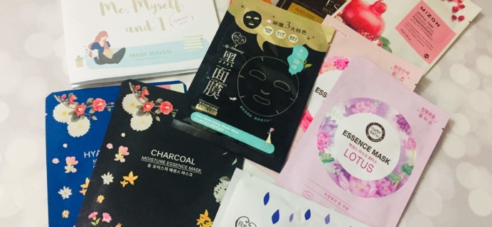 Beauteque Mask Maven February 2019 Subscription Box Review + Coupon
