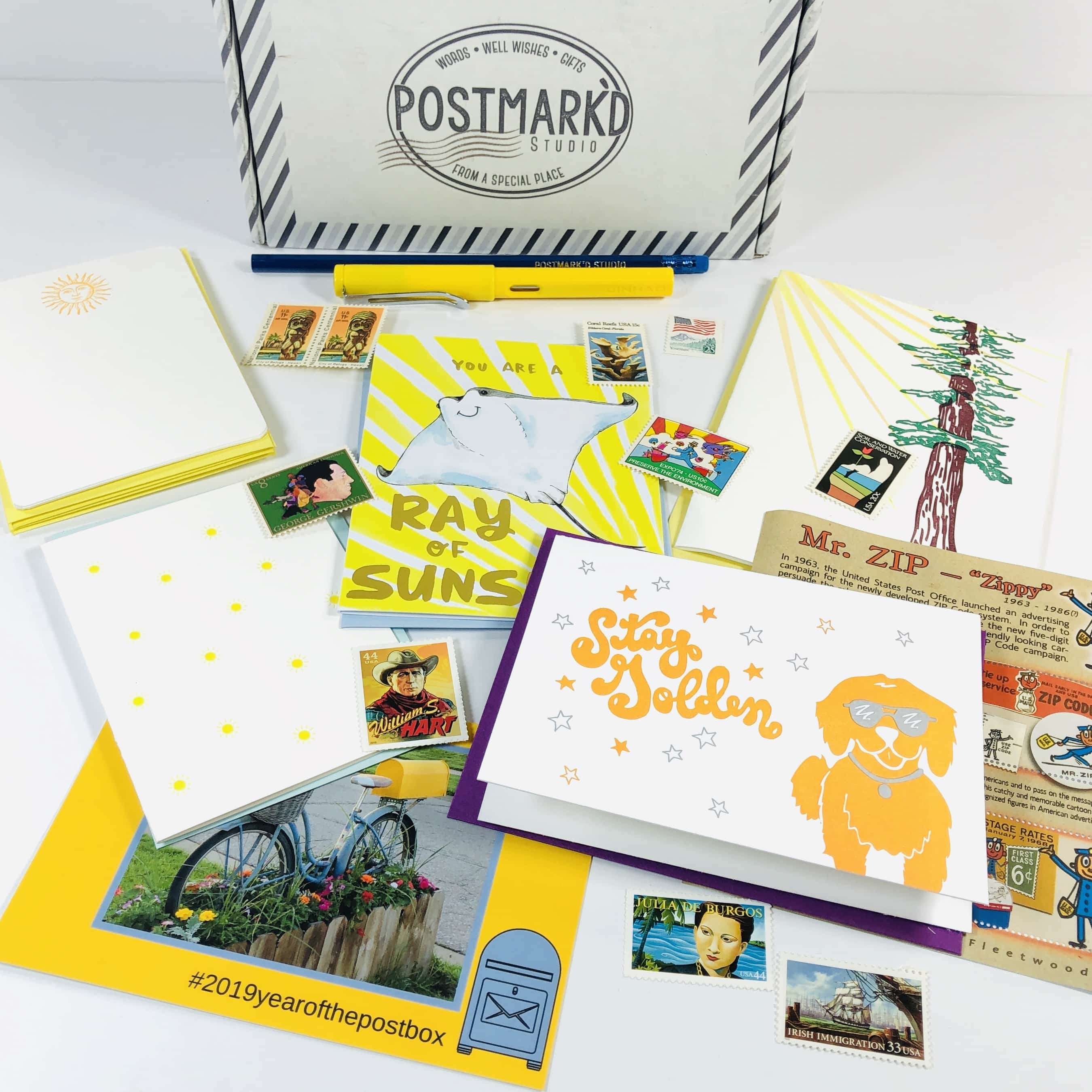 PostBox Subscription Box Review + Coupon – March 2019