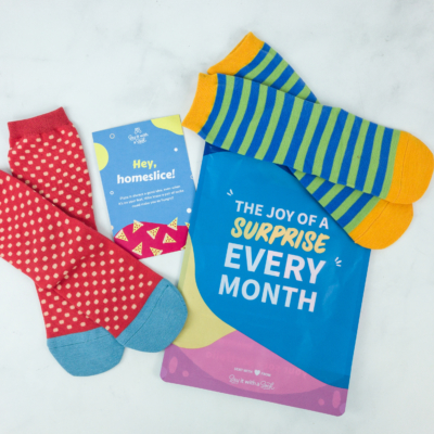 Say It With A Sock March 2019 Kids Sockscription Review & Coupon