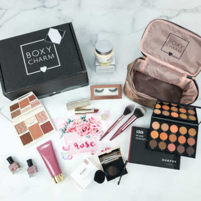 BOXYCHARM March 2019 BoxyLuxe Review