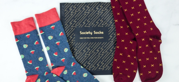Society Socks March 2019 Subscription Box Review + 50% Off Coupon