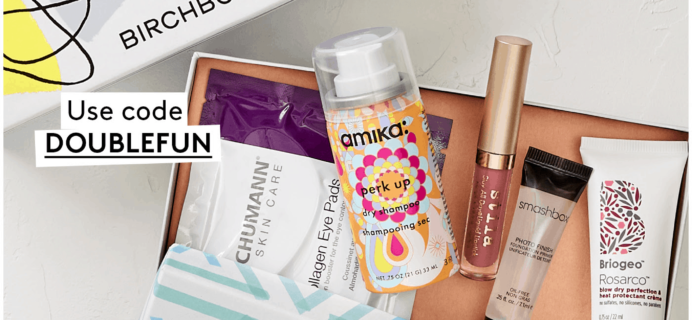 Birchbox Coupon: Get Free Mystery Box!