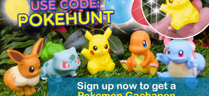 Doki Doki Easter Coupon: Get FREE Pokemon Gachapon!