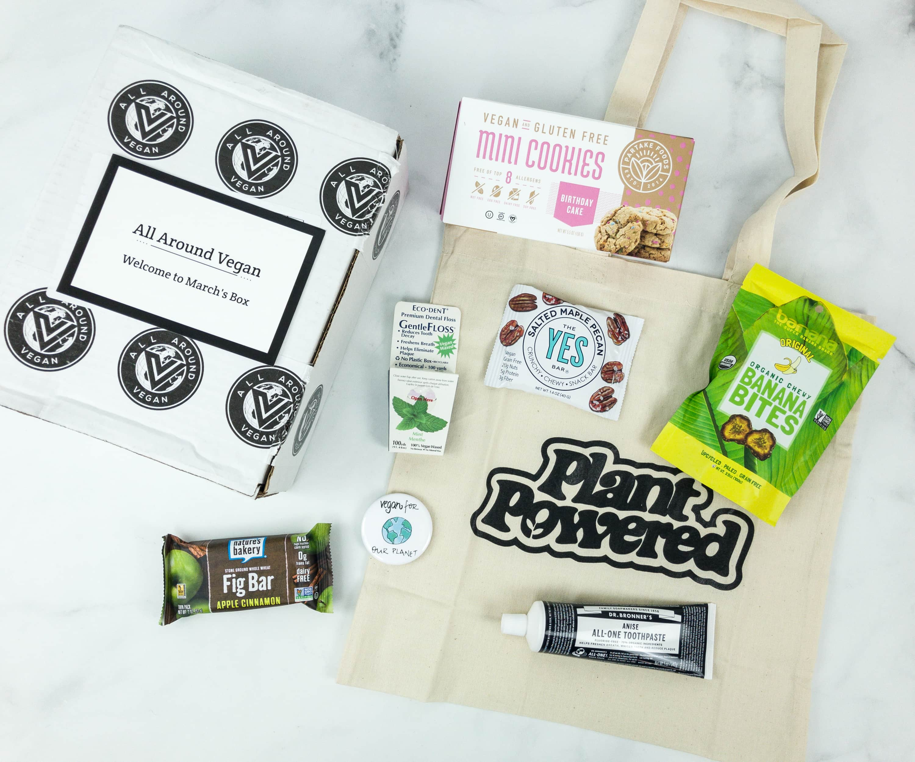 All Around Vegan Box March 2019 Subscription Box Review + Coupon