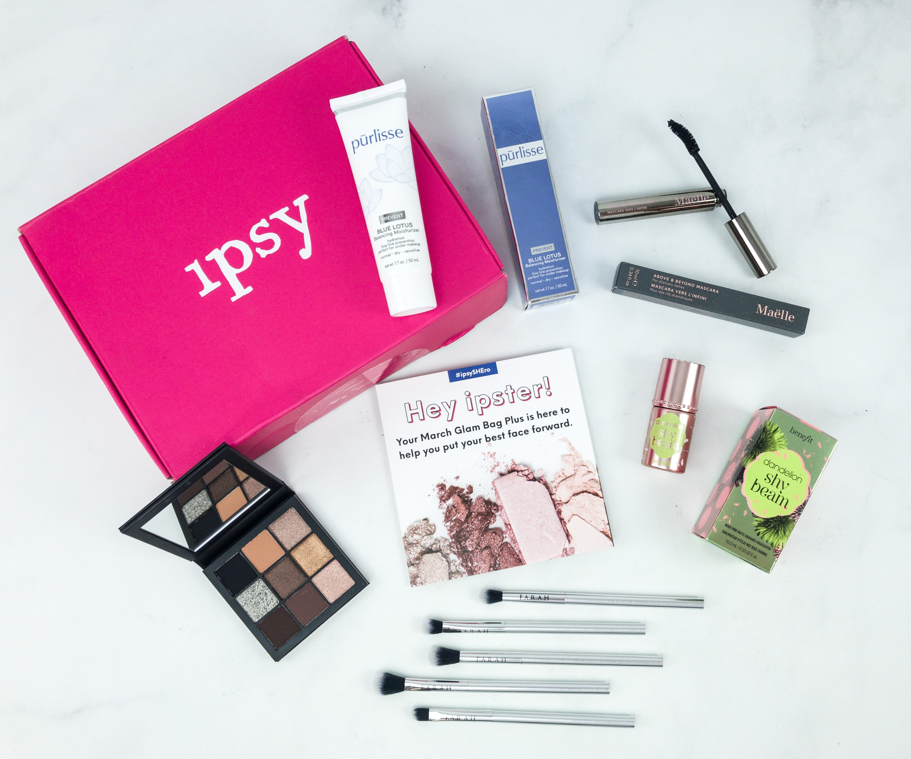 Ipsy Glambag Plus March 2019 Review - hello subscription