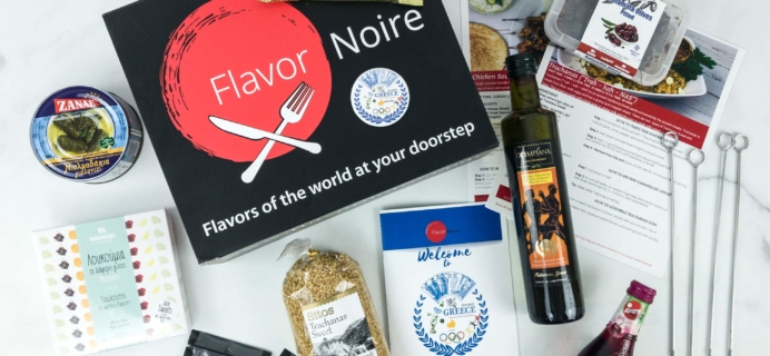 Flavors of the World Box March 2019 Subscription Box Review + Coupon – GREECE