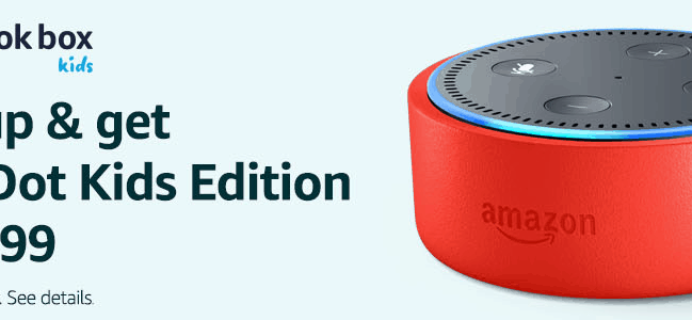 Amazon Prime Book Box Kids Sale: Get Echo Dot Kids Edition For $0.99!