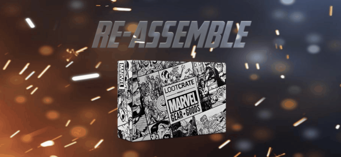 Loot Crate Marvel Gear + Goods May 2019 Full Spoilers + Coupon!