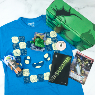 Loot Crate February 2019 Review + Coupons – TRANSFORMATION