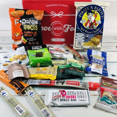 Love With Food March 2019 Deluxe Box Review + Coupon!
