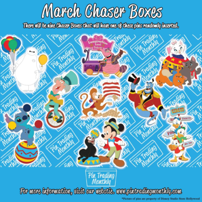 Pin Trading Monthly March 2019 Chase Spoiler!