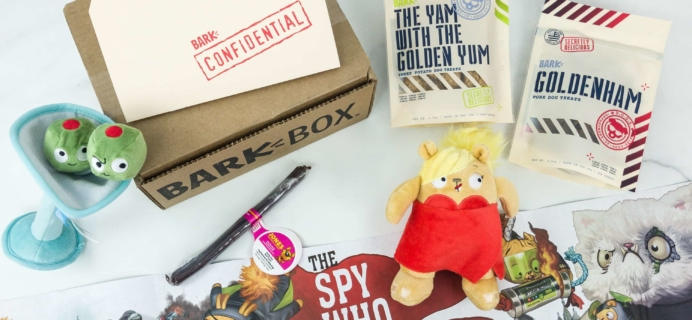 Barkbox March 2019 Subscription Box Review + Coupon