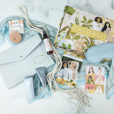 CAUSEBOX Spring 2019 Subscription Box Review + Coupon