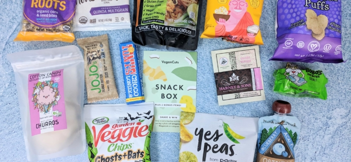 Vegan Cuts Snack Box March 2019 Subscription Box Review