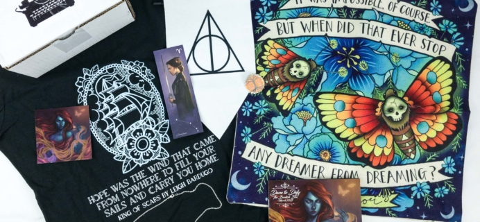 The Bookish Box March 2019 Subscription Box Review + Coupon