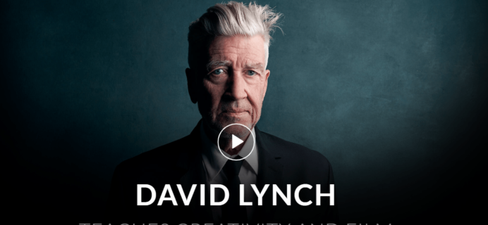 MasterClass David Lynch Class Available Now!