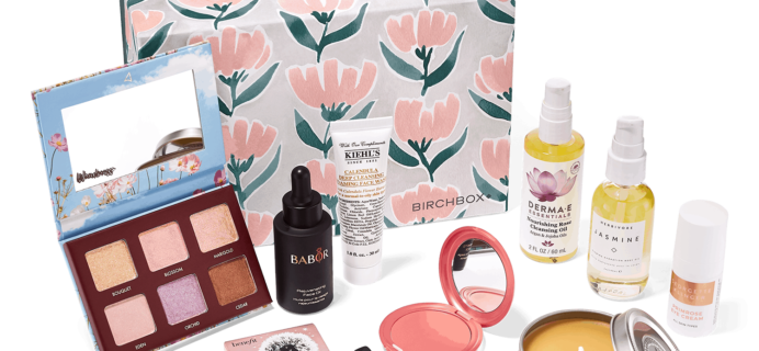 Floral Favorites Kit – New Birchbox Kit Available Now + Coupons!