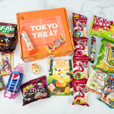 Tokyo Treat April 2019 Subscription Box Review + Coupon