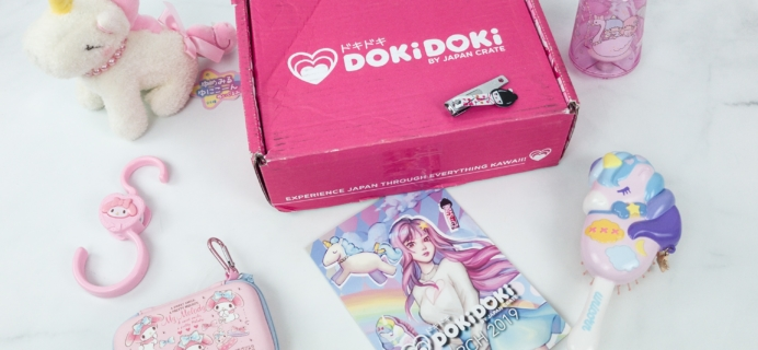Doki Doki March 2019 Subscription Box Review & Coupon