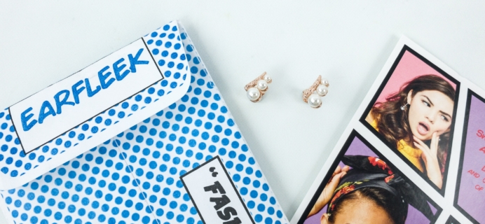 EarFleek Minimalist March 2019 Subscription Box Review + 50% Off Coupon