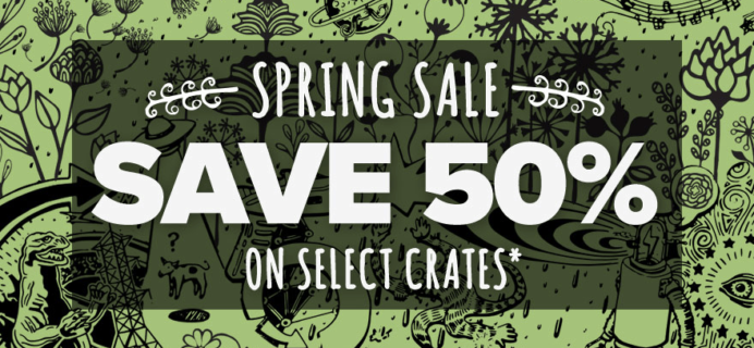 Loot Crate Sale: Get 50% Off Select Crates!