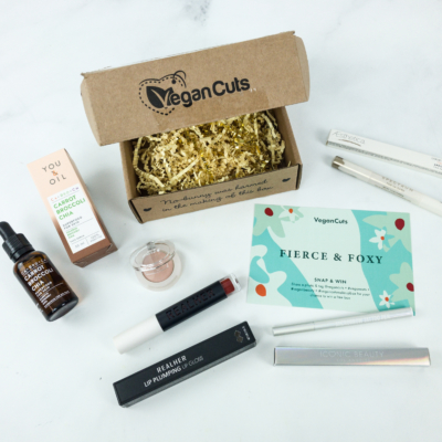 Vegan Cuts Makeup Box Spring 2019 Subscription Box Review
