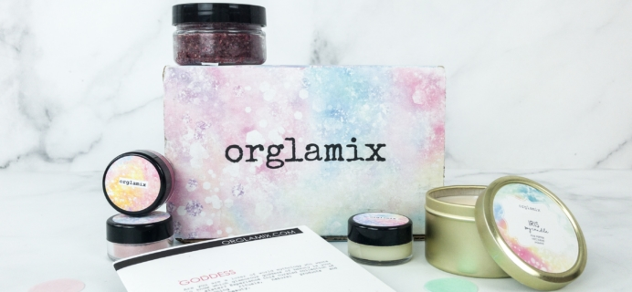 Orglamix March 2019 Subscription Box Review & Coupon