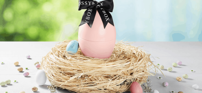 GLOSSYBOX 2020 Limited Edition Easter Egg Box Spoiler #4!
