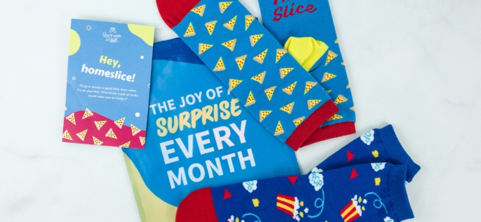 Say It With A Sock April 2019 Kids Sockscription Review & Coupon