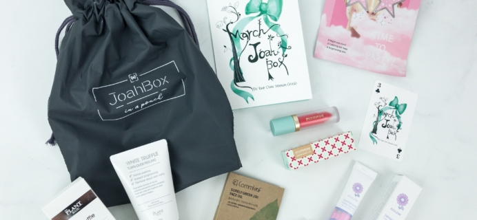 JoahBox March 2019 Subscription Box Review + Coupon