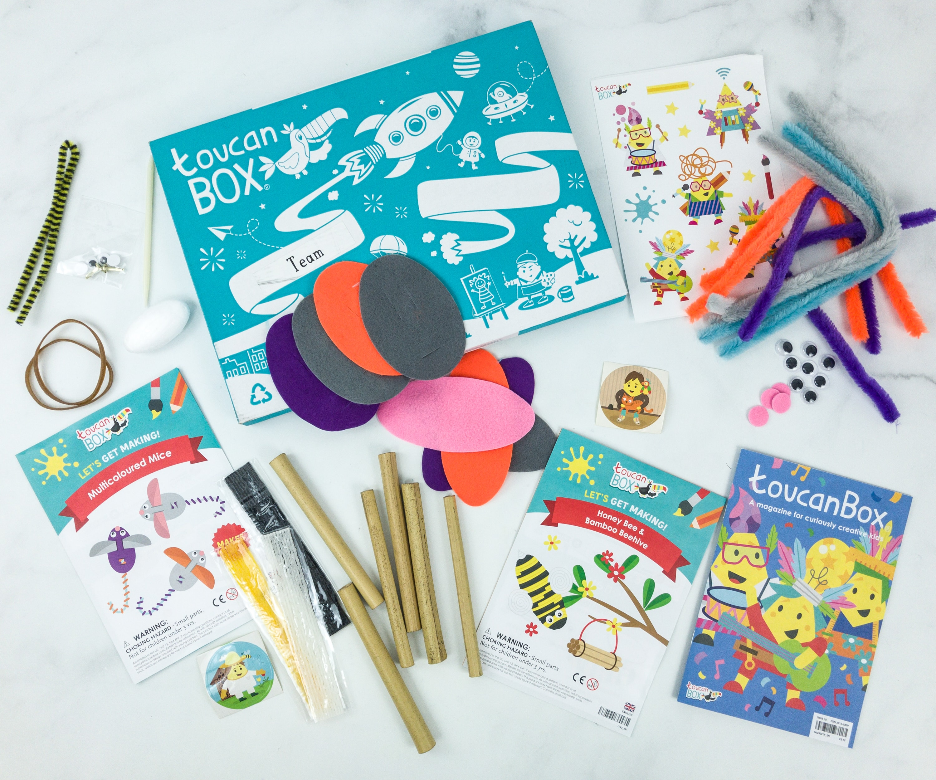 toucanBox March 2019 Subscription Box Review + Free Box Coupon