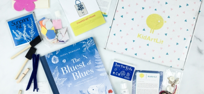 KidArtLit March 2019 Subscription Box Review + Coupon!