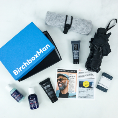 Birchbox Man April 2019 Subscription Box Review & Coupon