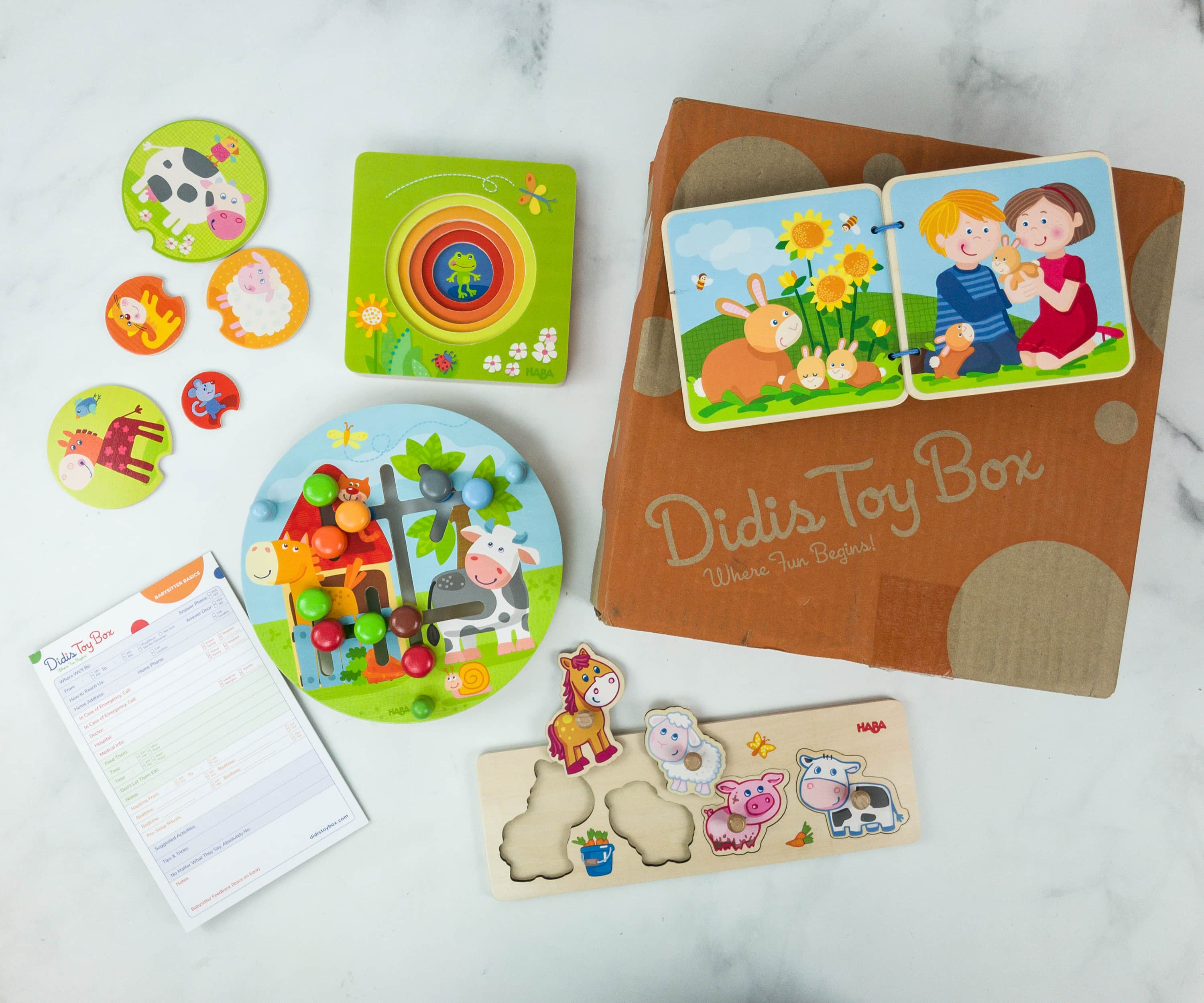 Didis Toy Box April 2019 Subscription Box Review & Coupon