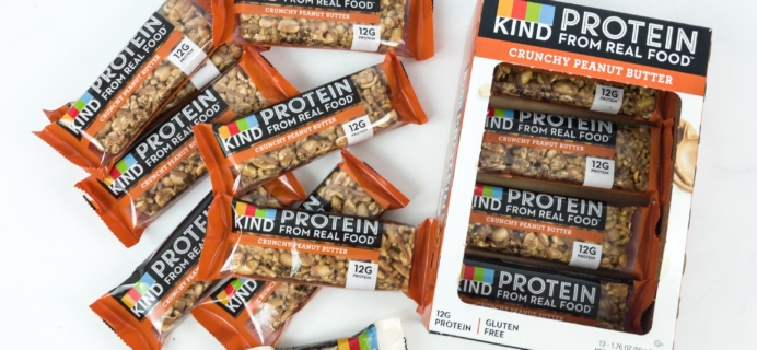 KIND Snack Club Subscription Box Review – Protein Bars + $20 Off Coupon