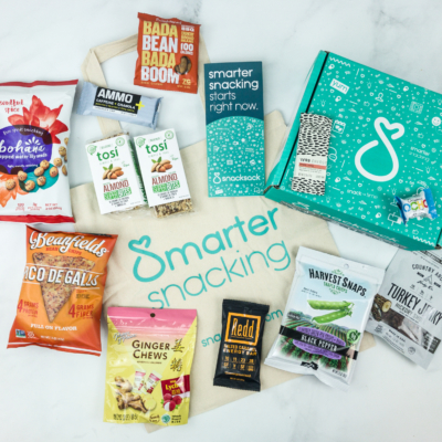 SnackSack March 2019 Subscription Box Review & Coupon – Gluten-Free